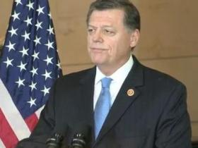 U.S. Rep. Tom Cole (R-Okla. 4) speaking during a ceremony Nov. 20, 2013 honoring Native American Code Talkers.