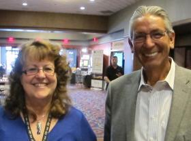 Carolyn McClellan and Kevin Gover