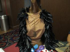 Women's feathered cloak by Lisa Rutherford (Cherokee)