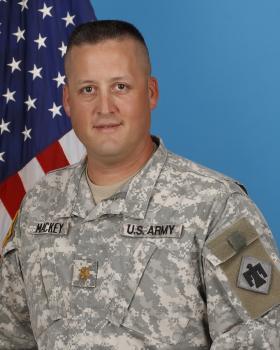 Major Dave Mackey
