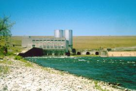 Lake Texoma's Denison Dam.