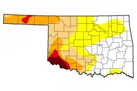 The latest update of the U.S. Drought Monitor as of Jan. 14, 2014.