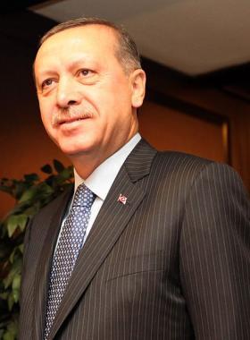 Turkish Prime Minister Recep Tayyip Erdoğan.