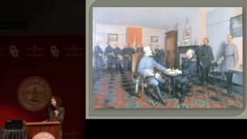 """UCLA Historian Joan Waugh delivers her lecture """"U.S. Grant at the Civil War Sesquicentennial"""" March 10, 2014 at the University of Oklahoma."""