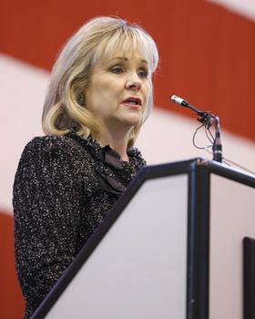 Oklahoma Governor Mary Fallin.