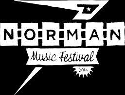 The official logo of Norman Music Festival 2014.