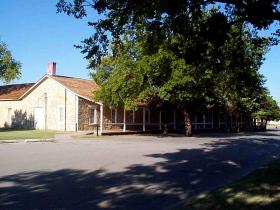 Infantry barracks at Fort Sill, Okla.