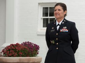 Lt. Col. Cynthia Tinkham, senior personnel officer for the Oklahoma National Guard, was promoted to the rank of Colonel on November 3, 2013. Tinkham is a native of Blanchard, Okla., and has served with the Oklahoma Army National Guard for more than 24 yea