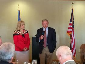 Governor Fallin and U.S Senator Jim Inhofe tour the facility last Friday.