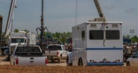 Finley Resources drilling in Norman