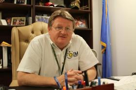 Albert Ashwood, director of the Oklahoma Department of Emergency Management