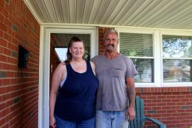 James and Sheryl Pennington sought FEMA assistance after the May 20, 2013, tornado damaged their home.
