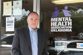 Michael Brose, Executive Director of the Mental Health Association of Oklahoma.