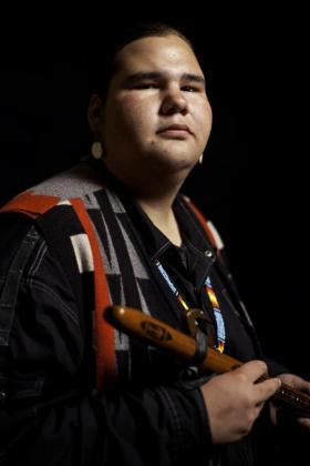 Musician Cody Blackbird