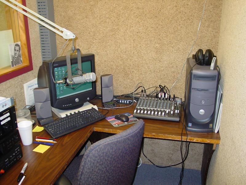 This room was News Control in 1983, used as a production room ca. 2005.