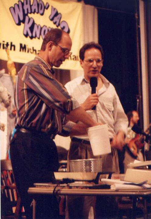Michael Feldman brought Whad'ya Know? to OU's Holmberg Hall in the early 1990s.