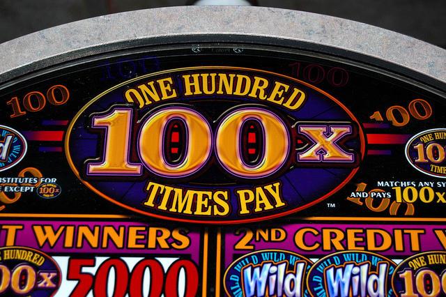 photo of slot machine