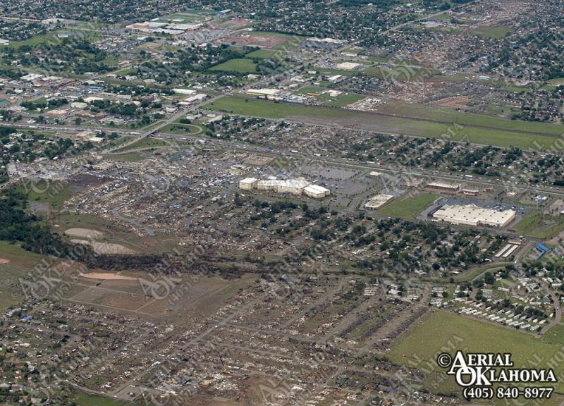 Moore, Okla. after the tornado tore through the community May 20. The community's only hospital was destroyed in the storm.