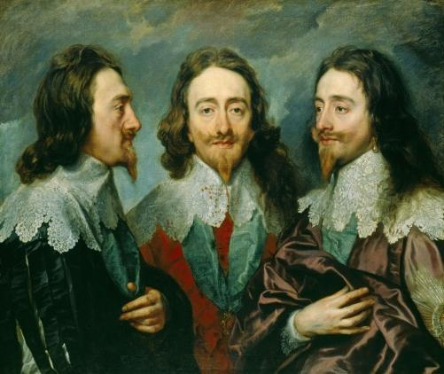 Charles I (1600-1649), Oil on canvas, c. 1636