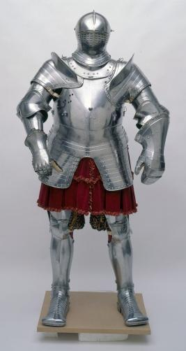 Armour of Henry VIII for the field and tilt, Steel etched in relief, 1539