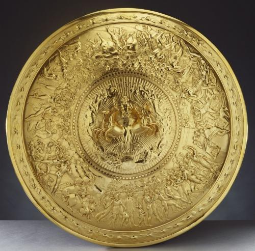 The Shield of Achilles, Silver gilt, 1821