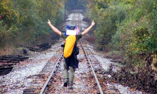 Andrew Forsthoefel sets out at age 23 to walk across America.