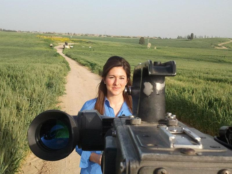 Erielle Reshef reports from an Iron Dome missile defense site in Ashkelon during a 2012 rocket barrage.
