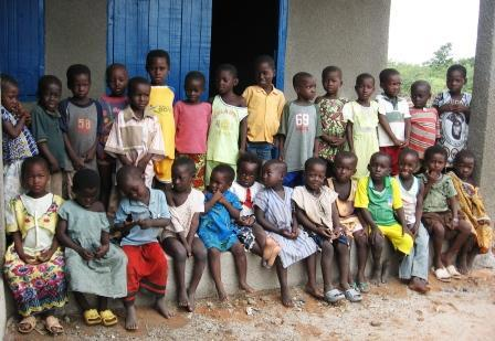 Students of the La'Angum Learning Center in the remote East Mamprusi district of Ghana.