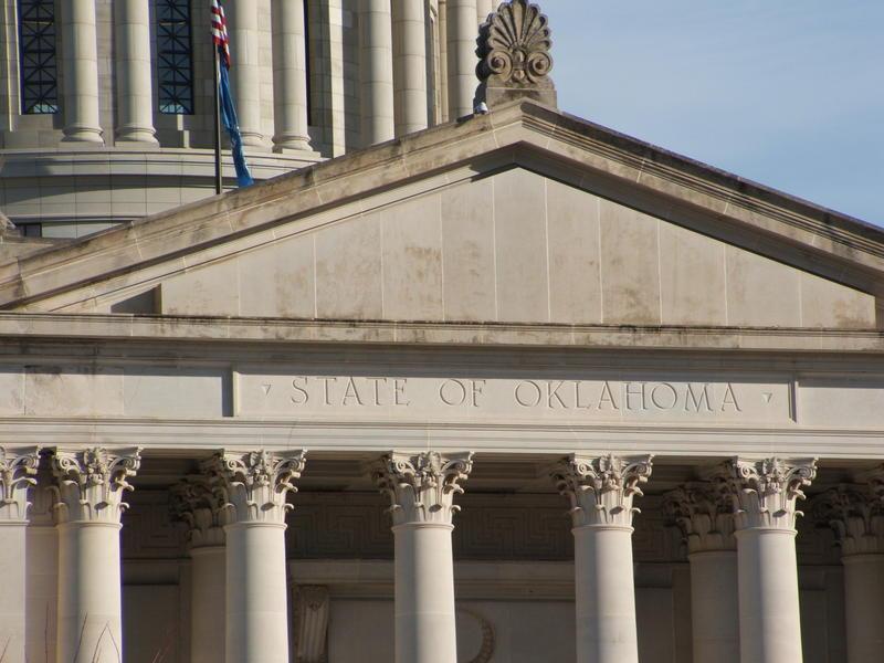 oklahoma capitol facade