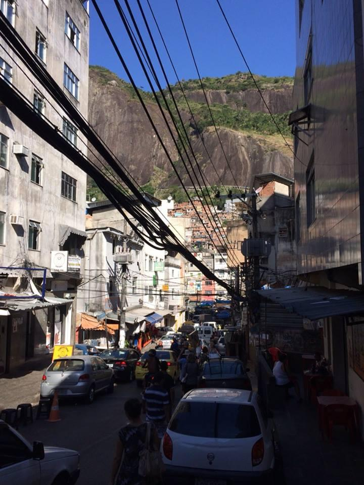 The Main Street of Rocinha - one of Rio's largest favelas with 70,000 residents.