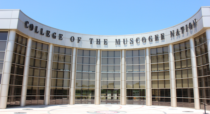 College of the Muscogee Nation in Okmulgee, Okla.