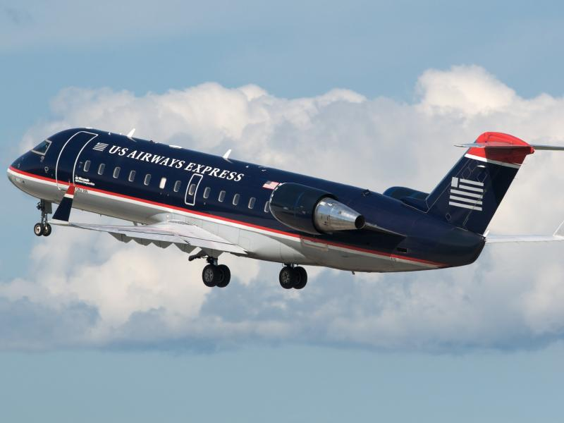 U.S. Airways Express jet