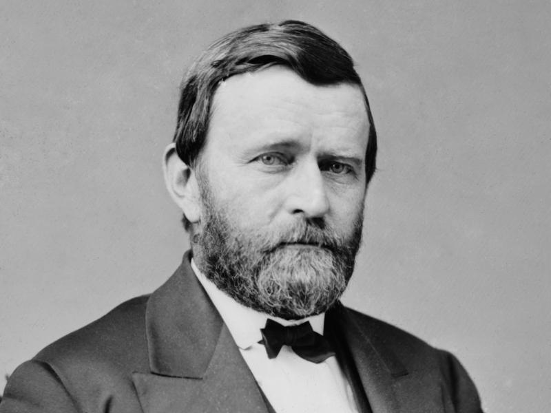 U.S. President Ulysses S. Grant, circa 1870
