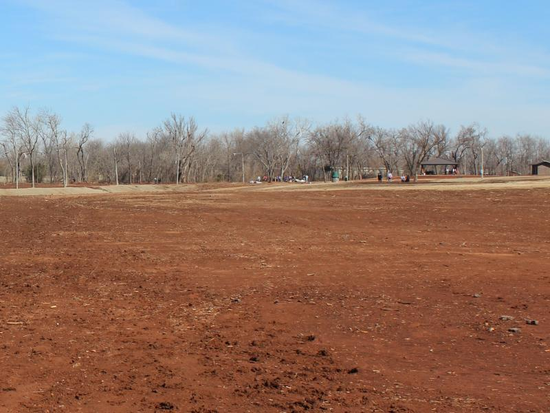 The Little River Park in Moore has been cleared for rebuilding after sustaining heavy damage in the May 20, 2013 tornado.