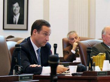 Preston Doerflinger, Office of State Finance director, during a November 2011 tax credit task force meeting.