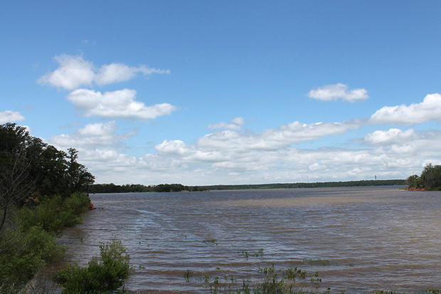 Lake Thunderbird, near Norman, Okla., in June 2013.