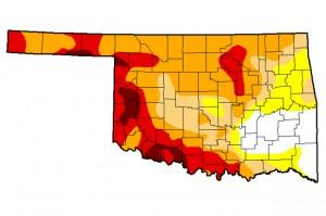 The July 29 update of the U.S. Drought Monitor, which doesn't reflect the full impact of this week's rainfall.