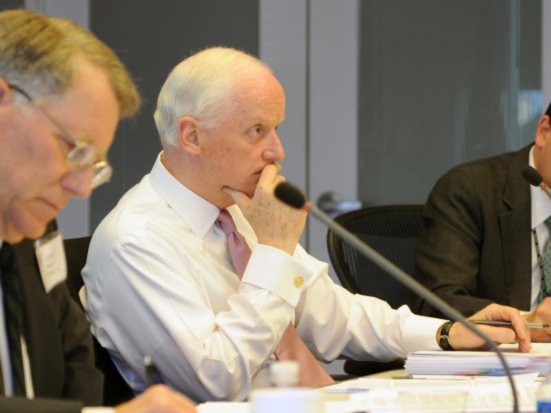 Former Oklahoma Gov. Frank Keating