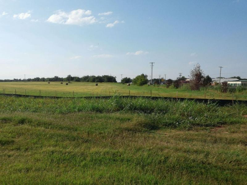 The field at 24th Ave. SE and Classen Blvd. in Norman where developers have proposed building a Wal-Mart Supercenter.