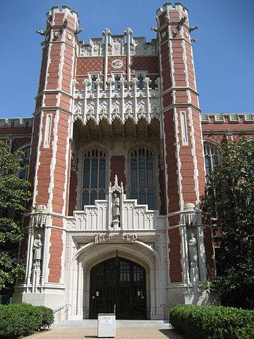 University of Oklahoma Bizzell Library 2006