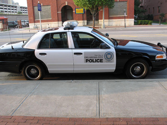 Oklahoma City Police Car