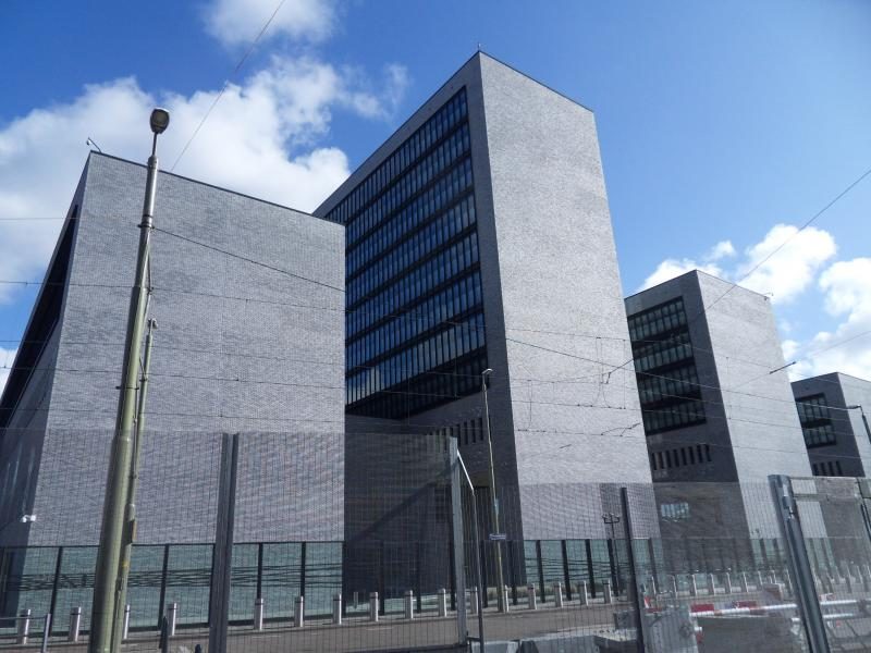 The headquarters of Europol in The Hague.