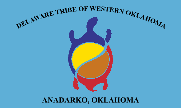 Flag of the Delaware Tribe of Western Oklahoma