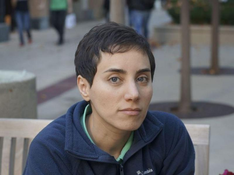 Fields Medal recipient Maryam Mirzakhani.