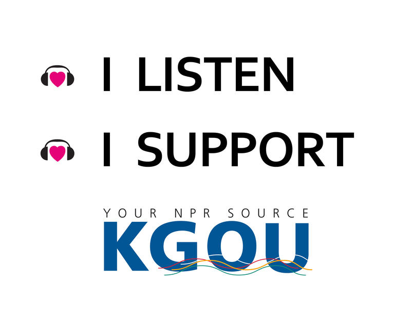 I listen, I support KGOU