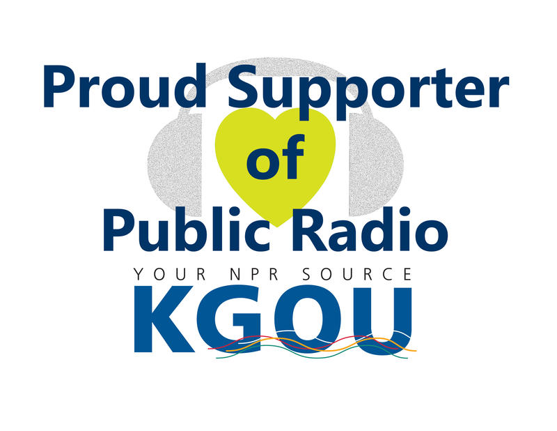 Proud supporter of public radio