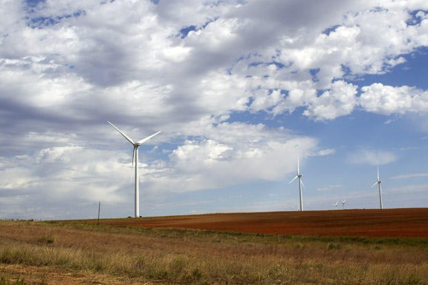NextEra Renewable Energy Resources' wind farm near Elk City, Okla.
