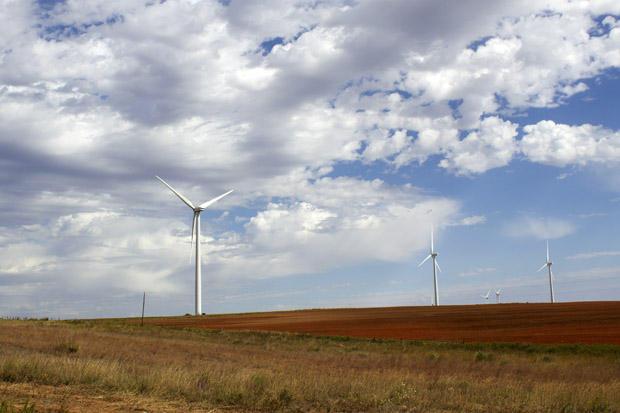 NextEra Renewable Energy Resources' wind farm near Elk City, Okla.