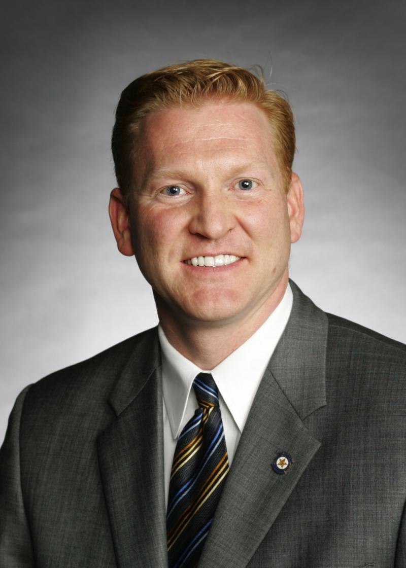 Oklahoma Representative Mark McCullough, Republican from Sapulpa.