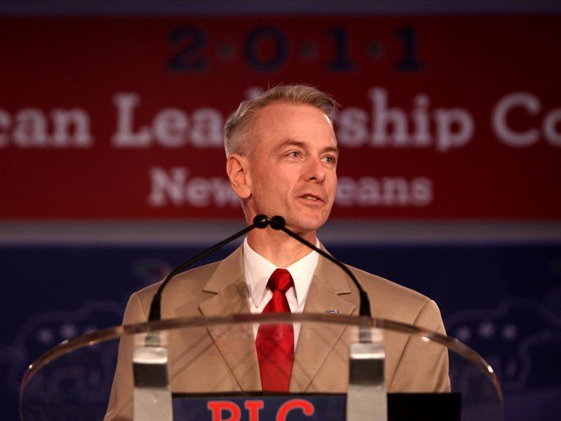 Oklahoma state Sen. Steve Russell speaking at the Republican Leadership Conference in New Orleans, Louisiana - June 18, 2011